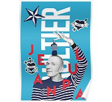 Jean Paul Gaultier Collage Poster