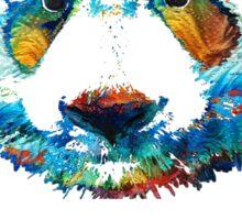 Colorful Panda Bear Art By Sharon Cummings Sticker