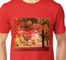 Red Maple in Larz Anderson park. Unisex T-Shirt