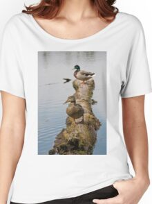 Waterfowl, Mud Lake, Ottawa, Ontario Women's Relaxed Fit T-Shirt