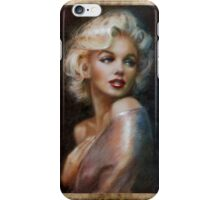 Marilyn romantic soft iPhone Case/Skin
