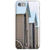 Beach Huts iPhone Case/Skin