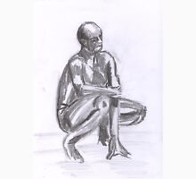Naked Man, study in Pencil Unisex T-Shirt