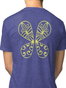 Fairy Wings - Yellow Tri-blend T-Shirt