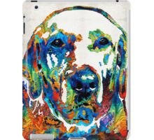 Labrador Retriever Art - Play With Me - By Sharon Cummings iPad Case/Skin