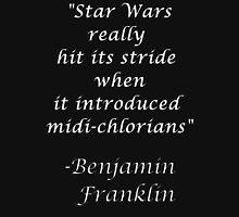 Fake Ben Franklin Quote SPACE OPERA Unisex T-Shirt