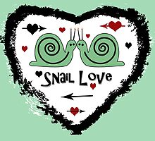 Snail Love by CarolM