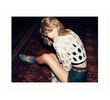 Taylor Swift tumblr icon Art Print