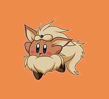Kirby Arcanine by DaRealBoss