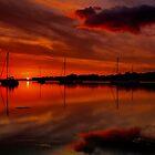 Flaming Sunset by jakeof