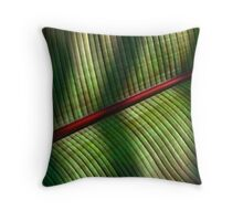 Palm Leaf 2 Throw Pillow