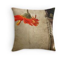Unable to Stand Throw Pillow