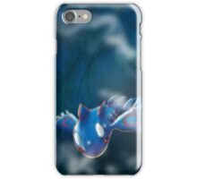 Kyogre, mighty water type Pokemon iPhone Case/Skin