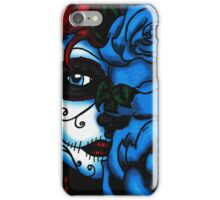 Blue Rose Face iPhone Case/Skin
