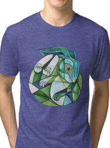 Moon Hare Tri-blend T-Shirt