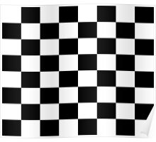 Chequered Flag Checkered Racing Car NASCAR Winner Bedspread Duvet Phone Case Poster
