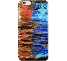 Textured wood - Vintage wallpaper iPhone Case/Skin