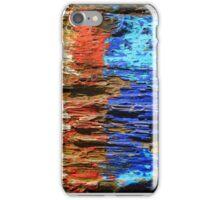 Textured wood - Vintage wallpaper iPhone Case/Skin