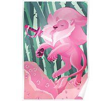 Steven Universe Lion Poster