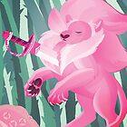 Steven Universe Lion by Hannah Diaz