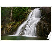 Moss Glen Falls - A Side View Poster