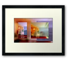 Saturday afternoon in my mind Framed Print
