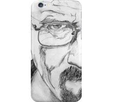 Walter White/Bryan Cranston Portrait  iPhone Case/Skin