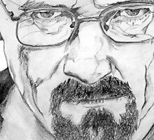 Walter White/Bryan Cranston Portrait  by PhilippaDMTW