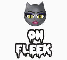 Kitty On Fleek One Piece - Short Sleeve