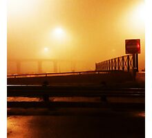 Red night,fogged mind  Photographic Print