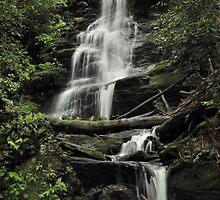 Silverspray Falls - Tillman Ravine by Stephen Vecchiotti