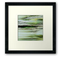 Abstrait 858 Framed Print