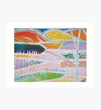 Balingup tapestry Art Print