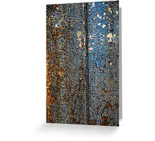 grungy abstract Greeting Card