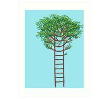 Ladder Tree Art Print