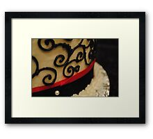 And in the end, it's not the years in your life that count. It's the life in your years. Framed Print