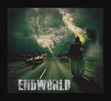 """Endworld """"highway to hell"""" t shirt  by Drummy"""