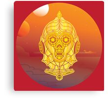 Steampunk C-3PO Canvas Print