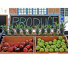 Produce Photographic Print