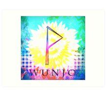 Wunjo Art Print