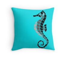 Sea Horsey See Throw Pillow