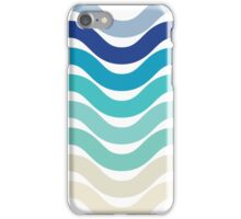 Beach- Sand, Ocean, Sky Color Theme iPhone Case/Skin