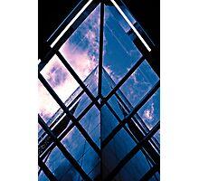 Skyscraper blues (duotone) Photographic Print
