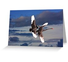 Sky Ballet Greeting Card