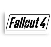 Fallout 4 Canvas Print