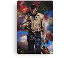The man from Carson city Canvas Print