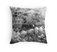 Gorge Cottage Throw Pillow