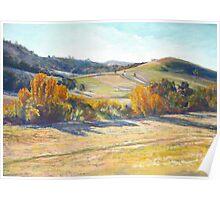 Autumn Along the Creek Poster
