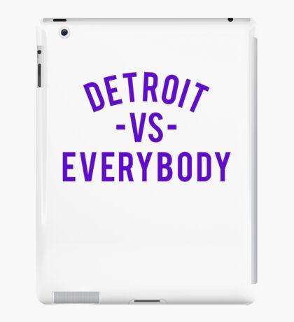 Detroit VS Everybody | Purple iPad Case/Skin