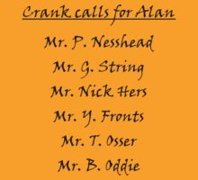 Alan Partridge Crank Calls by Andrew Alcock